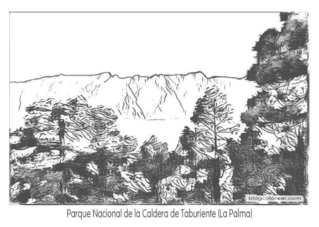 2-  Parque Nacional de la Caldera de Taburiente (La Palma)