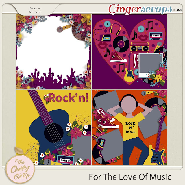 for The Love Of Music Templates