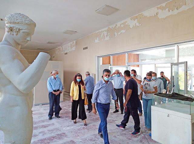 Αρχαία Ολυμπία: Άρχισαν τα έργα στο Μουσείο Σύγχρονων Ολυμπιακών Αγώνων