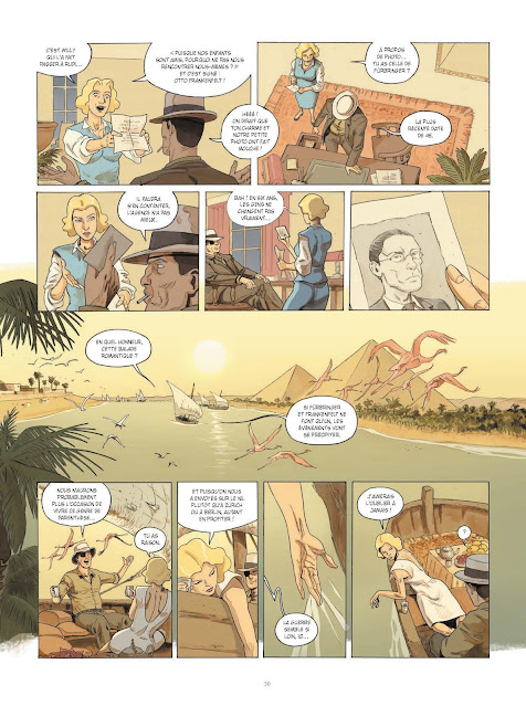 La guerre invisible Tome 1 : L'agence de Frank Giroud et Olivier Martin aux éditions Rue de Sèvres page 30
