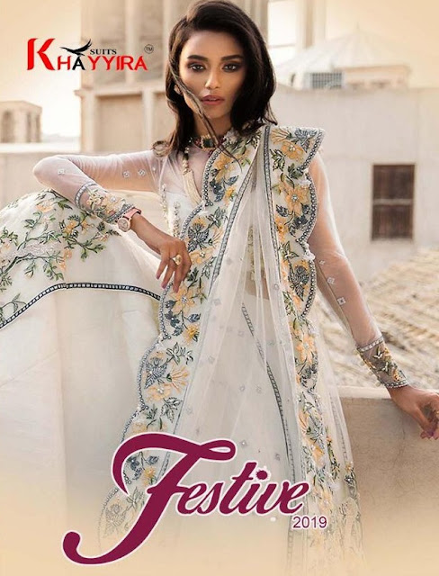khayyira Festive 2019 Pakistani Suits wholesale