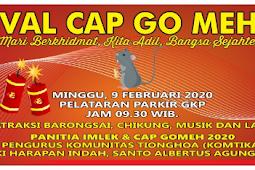 Festival Cap Go Meh 2020