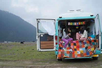 Caravan at Sikkim Ravangla