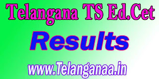 Telangana TS Ed.Cet Results TSEd.Cet Results