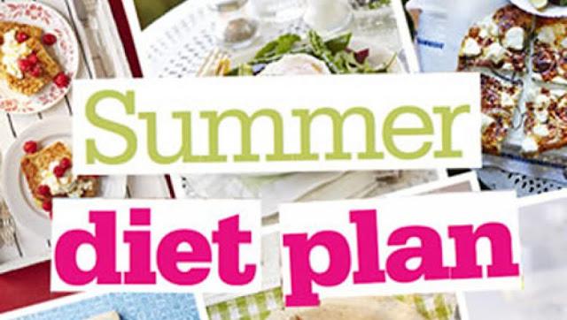 Summer diet