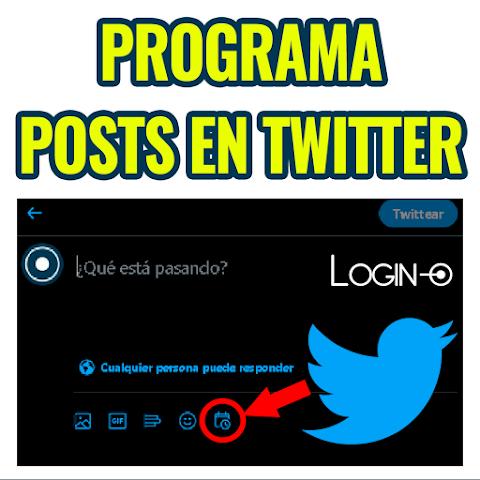 Cómo programar publicaciones en Twitter - 2021 - VIDEO