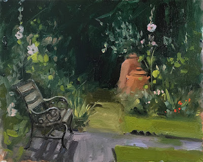 A quiet corner of the garden
