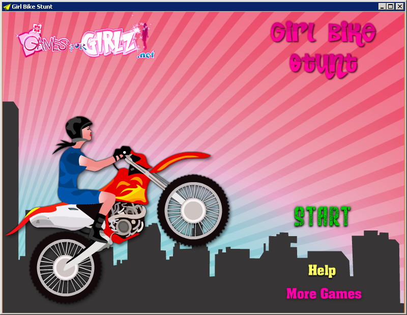 Stunt dirt bikefree flash games