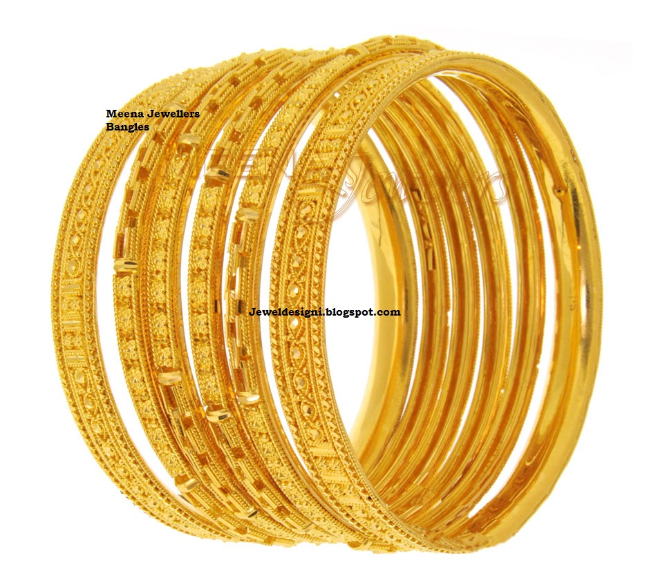Jewellery Designs Designer Gold Bangles