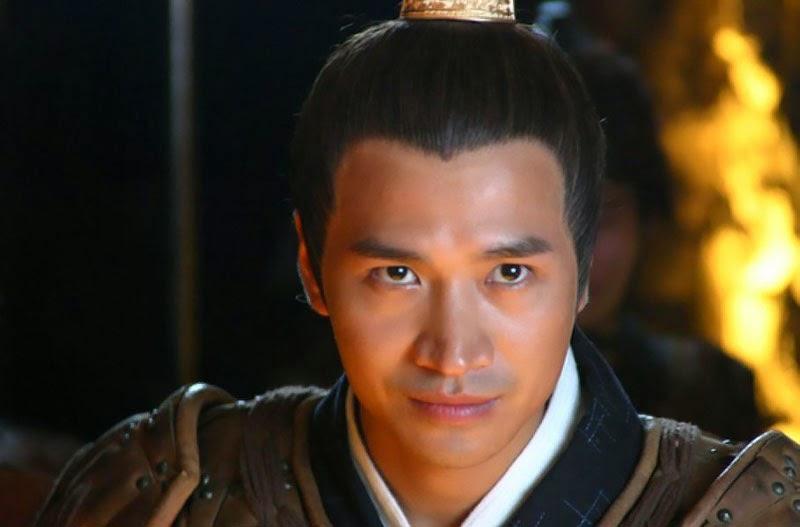 โจวย่าฟู (Zhou Yafu, 周亚夫) ภาพจากละครโทรทัศน์เรื่องกลสาวงาม (Chemes of a Beauty, Meiren Xinji, 美人心計)