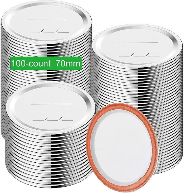 Mouth Canning Lids
