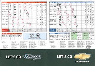 Red Sox vs. Blue Jays, 09-20-08