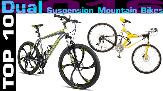 Top 10 Review Products-Top 10 Dual Suspension Mountain Bikes 2016