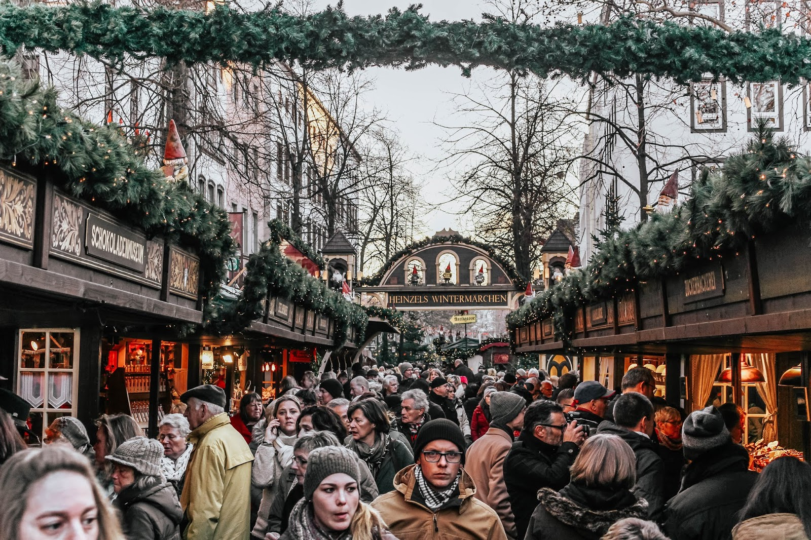 Germany Cologne Christmas Heinzels Wintermarchen