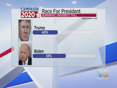 WATCH VIDEO :Biden leads Trump by 'landslide proportions' in new national poll