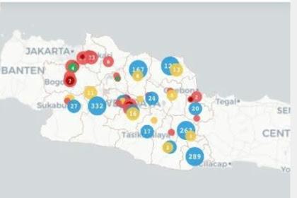 Update Corona Di Jabar: 263 Positif dan 29 Meninggal