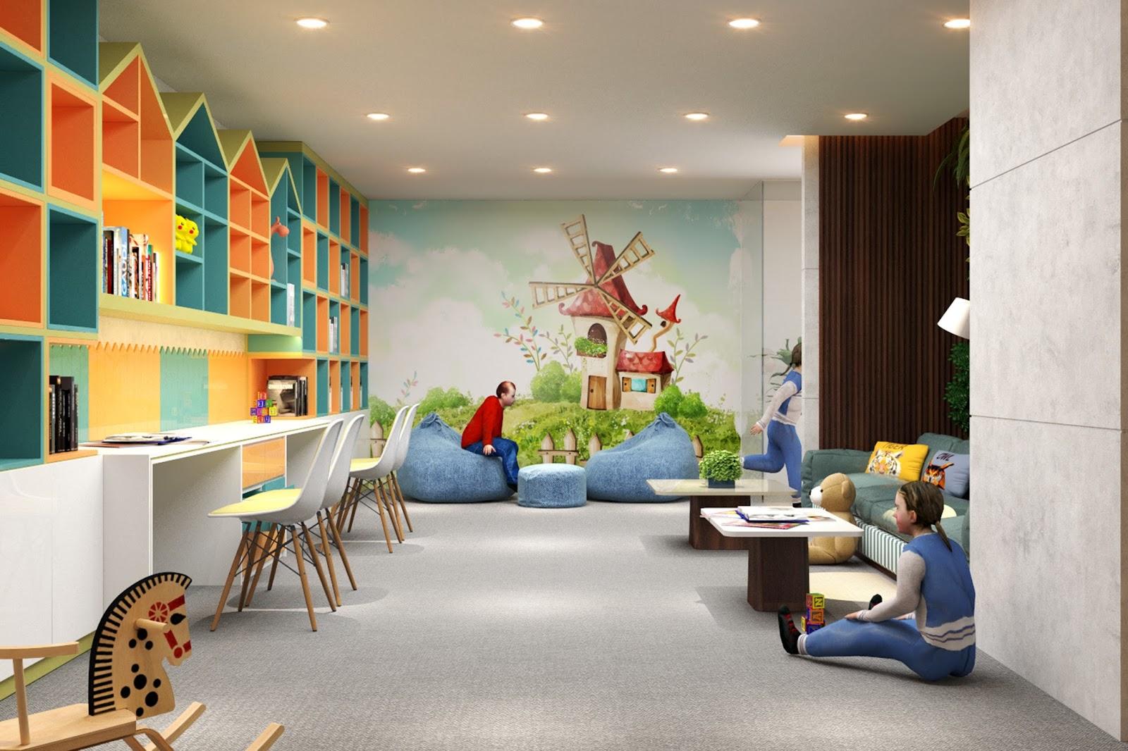 Phòng vui chơi cho trẻ