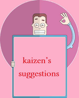 kaizen's suggestions
