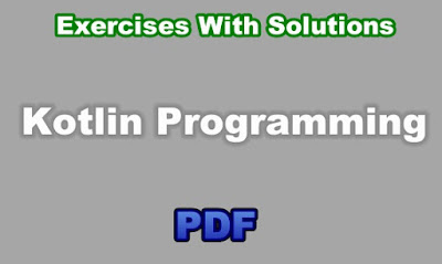 Kotlin Exercises With Solutions PDF