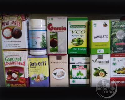 Alya Jazilah Herbals ini tersedia lengkap obat atau jamu herbal