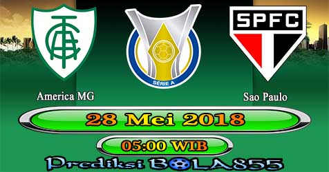 Prediksi Bola855 America MG vs Sao Paulo 28 Mei 2018