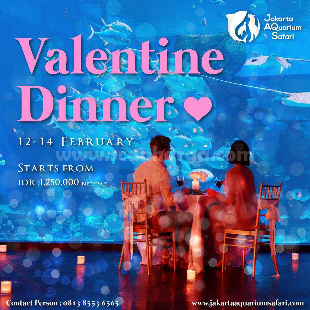 Jakarta Aquarium & Safari proudly present Valentine's Romantic Dinner Package