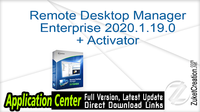 Remote Desktop Manager Enterprise 2020.1.19.0 + Activator