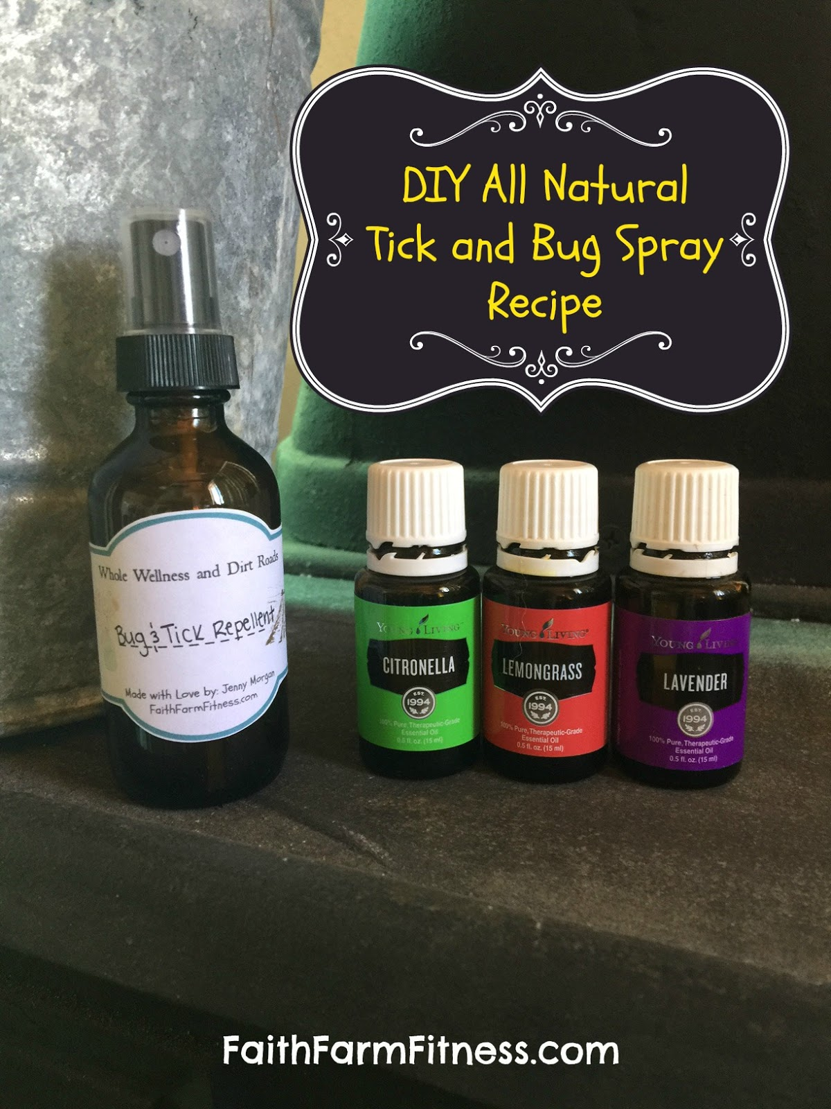 Life Light Up: DIY All Natural Tick and Bug Spray Recipe