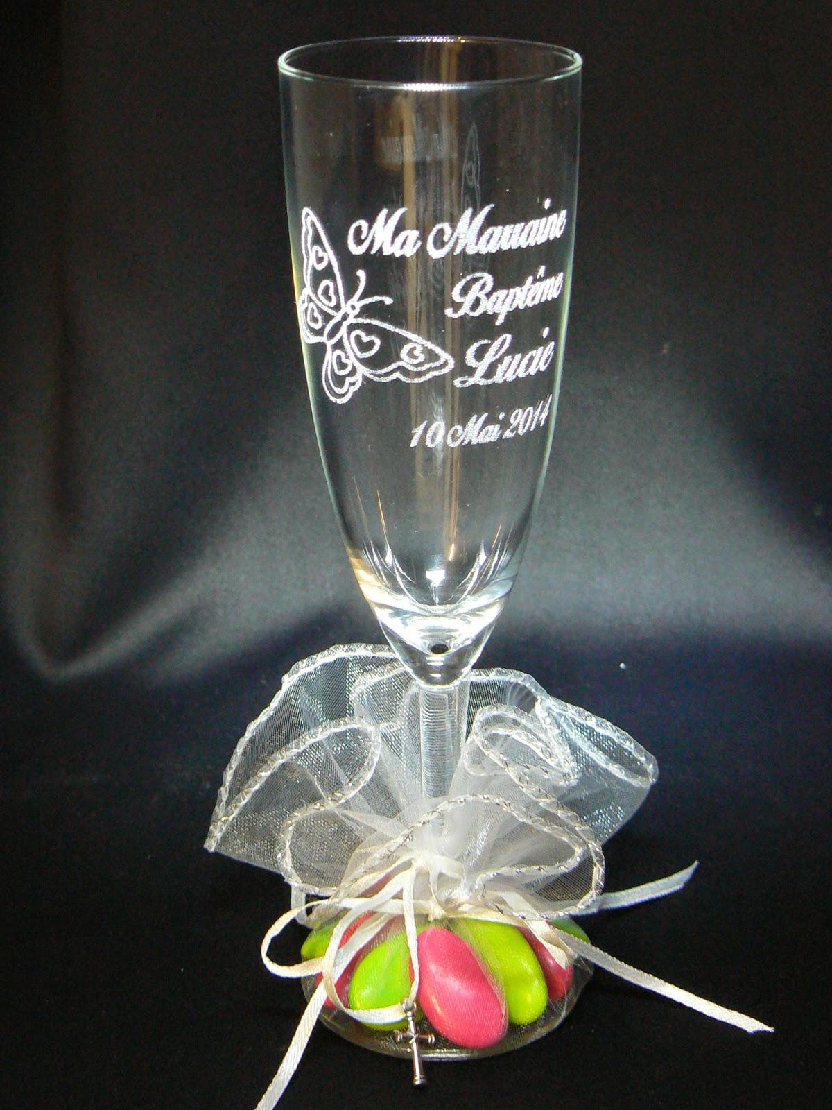 Gravures Sur Verre dedans gravure sur verre,1.48€ verre gravé,flute gravée,mariage,bapteme