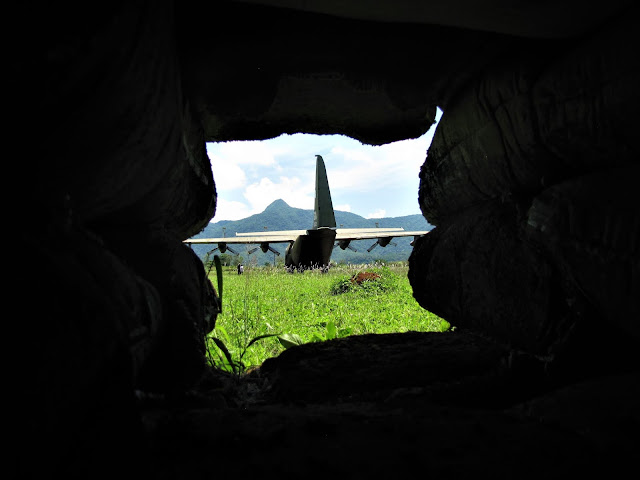 plane bunker khe sanh combat base dmz vietnam world away