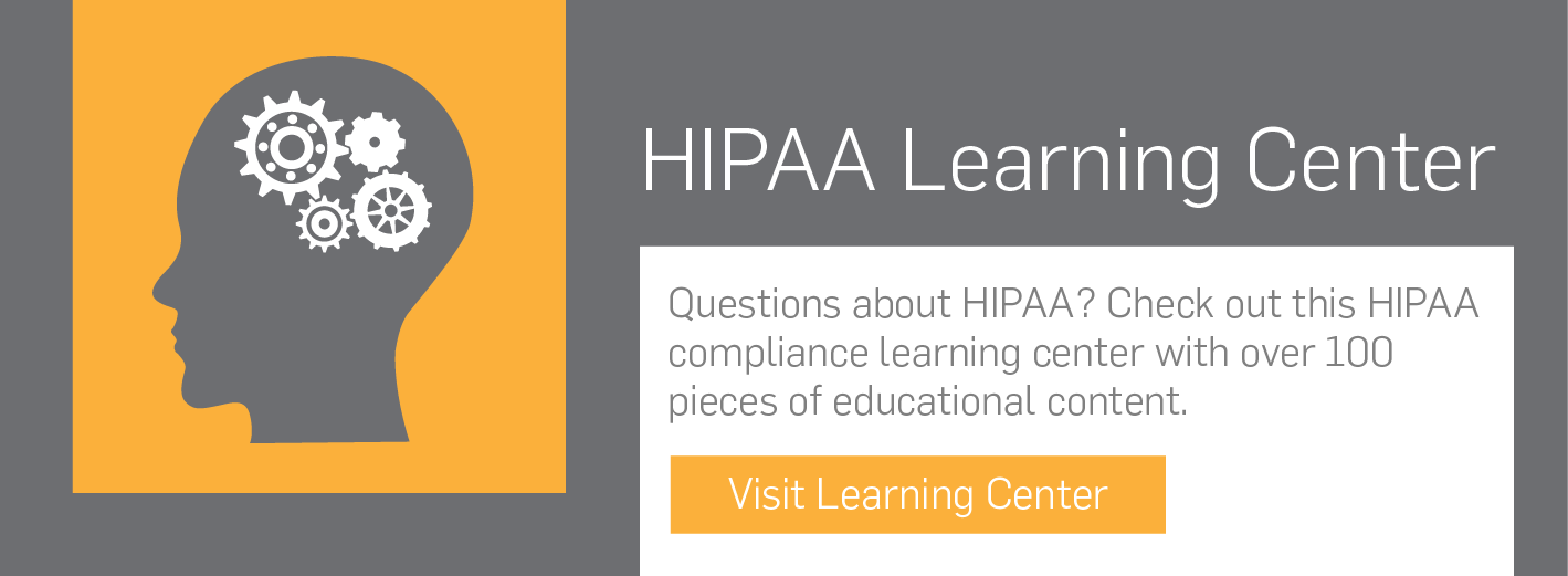 HIPAA learning center, SecurityMetrics