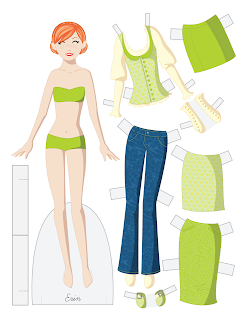 Erin - Fashion Friday Paper Doll