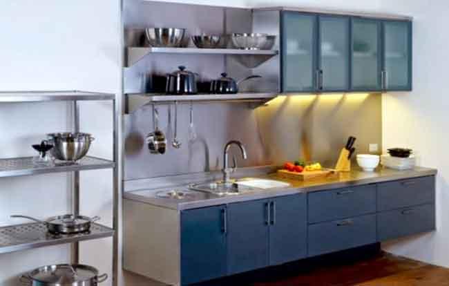 bahan Kitchen set modern dari aluminium