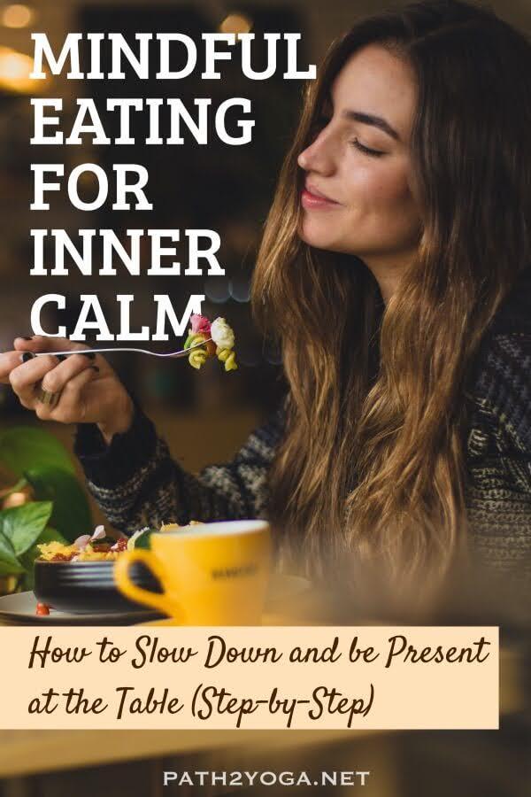 Mindful Eating Meditation Pinterest