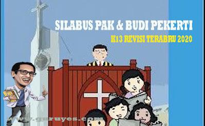 Download Silabus Agama Kristen SD K13 Revisi 2020 Kelas 6