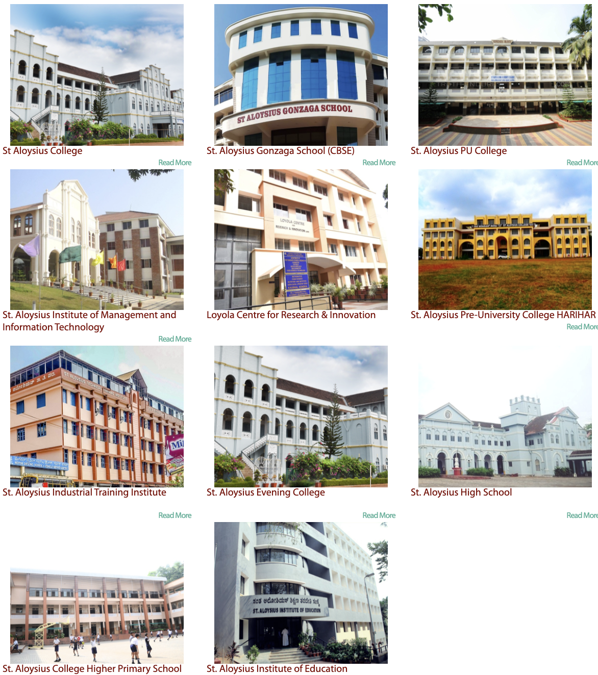 St. Aloysius Institutions (MJES) Mangalore