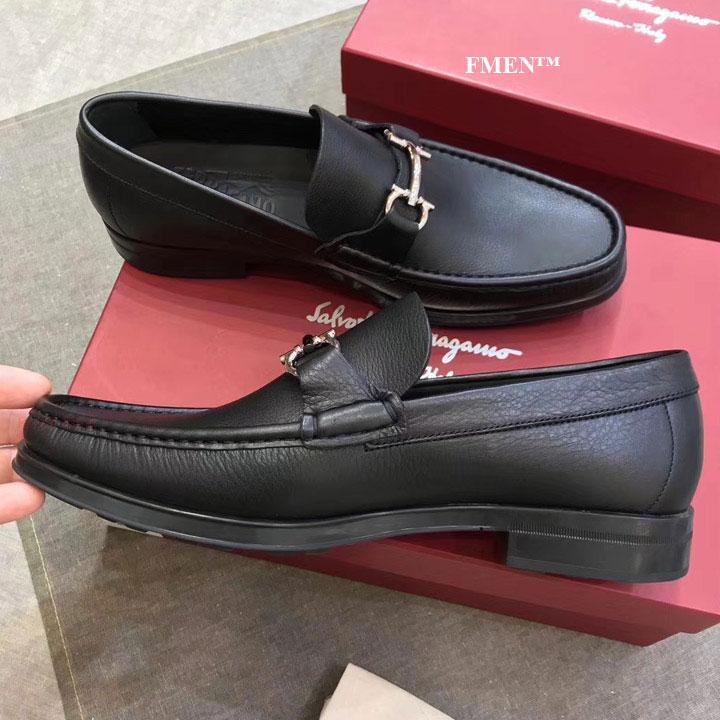 Giày lười Salvatore Ferragamo nam đế cao siêu cấp GNFE-879