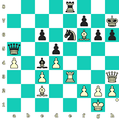 Les Blancs jouent et matent en 2 coups - Katya Lahno vs Sofia Shepeleva, Kramatorsk, 2001