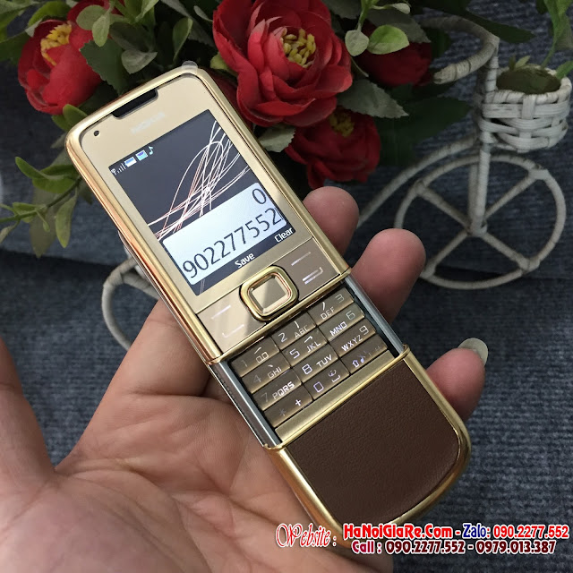 Nokia 8800 gold da nâu và  nơi chuyên bán nokia 8800 gold  giá 2,9tr uy tín giá rẻ