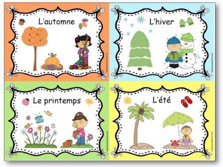 موضوع فرنسي عن فصل الربيع للصف الثامن