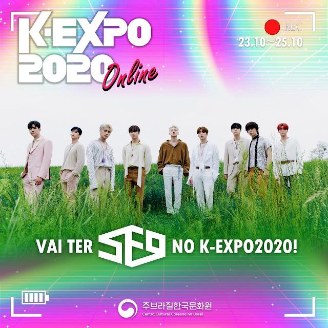 Frente à pandemia de coronavírus e a impossibilidade de realizar eventos presenciais, a K-Expo Brasil 2020 será completamente on-line, garantindo o retorno do maior festival de cultura coreana no Brasil e tudo o que ele tem a oferecer, incluindo show gratuito do SF9.