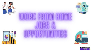 Work From Home Jobs and Opportunities