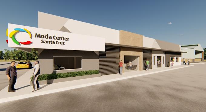 Obras para construção do Centro Operacional no Moda Center são iniciadas