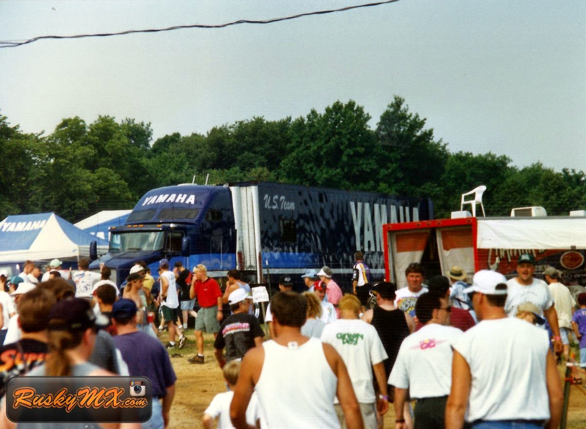 Factory Yamaha Rig - Red Bud 1996