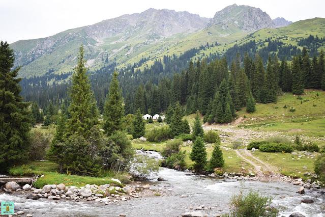 Paisajes de Kirguistán