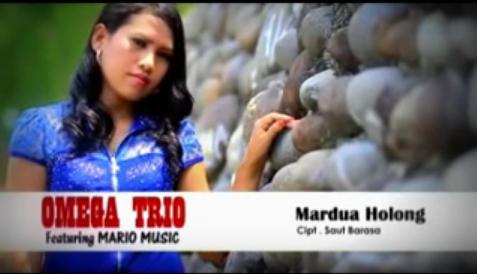 Lirik dan kunci gitar Omega Trio - Mardua Holong