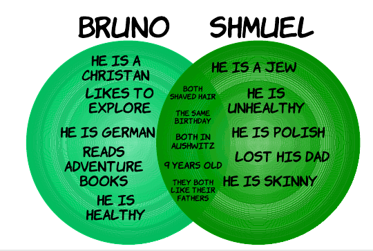 the boy in striped pajamas bruno and gretel relationship questions