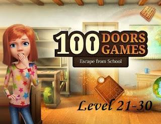 Jawaban 100 Doors Games Escape From School Level 21-30