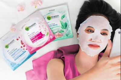 Tips Perawatan Wajah Menggunakan Rangkain Masker Garnier