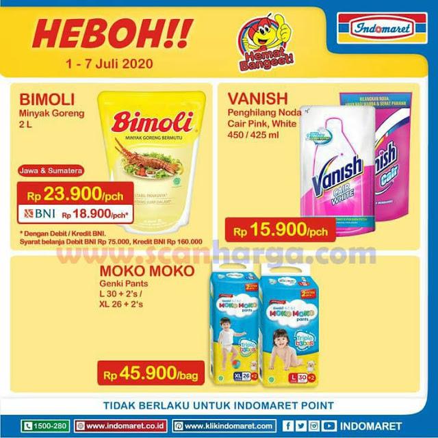 Katalog Promo Indomaret Heboh Minyak Goreng Dan Susu Murah 1 - 7 Juli 2020 1
